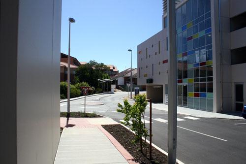 Curved Walkways Hollywood Hospital Nedlands Perth Western