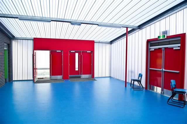 Gymnasium Wall Amp Entrance Canopy Gsg School Albany Western