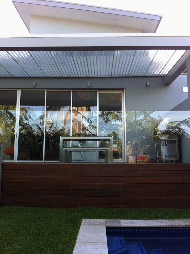 Residential Clear Fairlight Pergola Sydney New South Wales