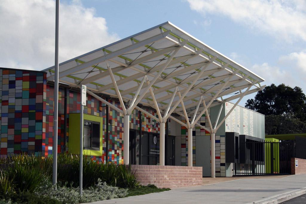 Translucent Canopies Duncraig Senior High School Upgrade