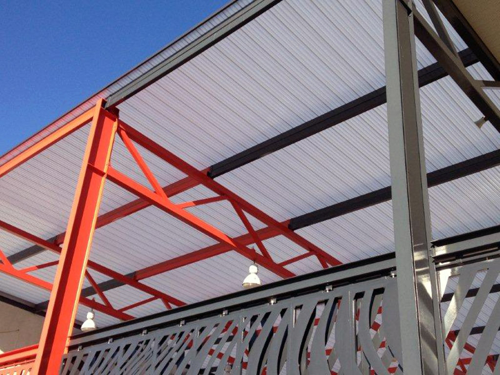 Translucent Canopy Roof Extension Baldivis Secondary