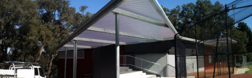 Everbright Canopy's & Walls Heathmont Sports Pavilion Melbourne