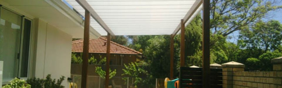 Residential Translucent Pergola Jane Road Applecross Perth