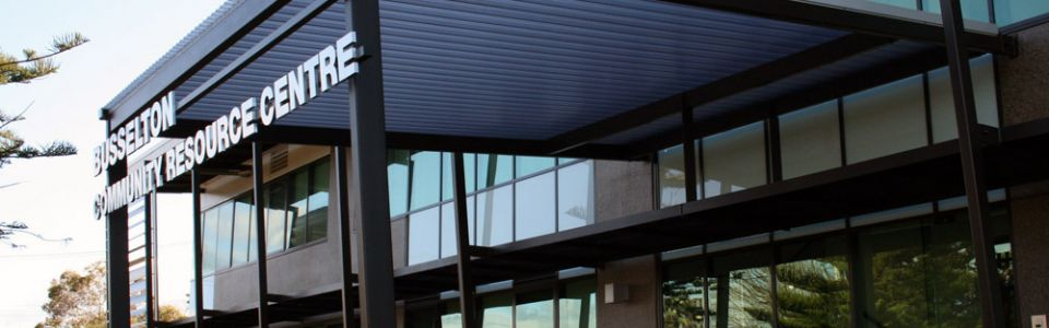 Busselton Community Resource Centre Translucent Canopies