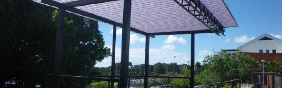 Translucent Stage Main Cafe Courtyard Upgrade Curtin University