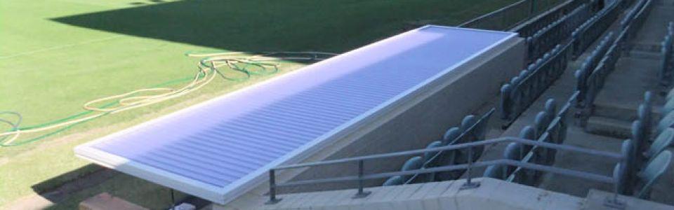 NIB Stadium Translucent Dug Outs Perth