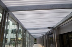 Large Translucent Walkway Princess Alexander Hospital Brisbane