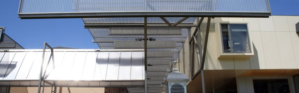 Translucent Canopies Christ Church Grammar School R Block
