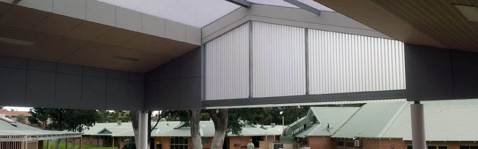 Translucent Walkways & Walls Frederick Irwin Anglican School Mandurah