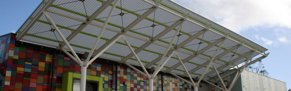 Translucent Canopies Duncraig Senior High School Upgrade Perth