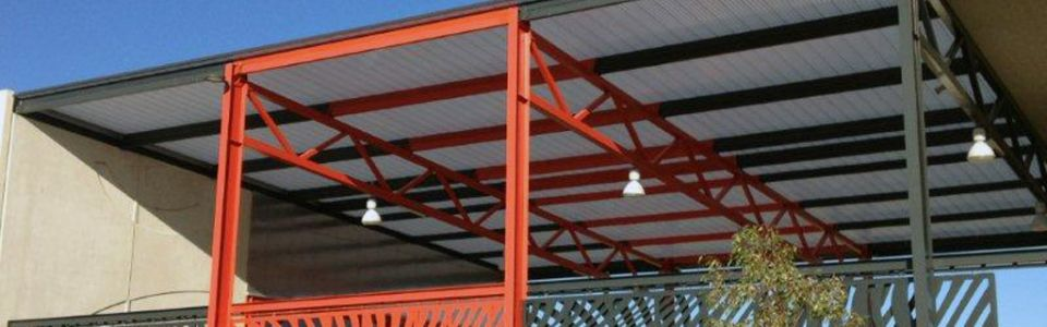 Translucent Canopy Roof Extension Baldivis Secondary College