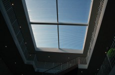 Translucent Curved Blue Skylight Box Hill Melbourne