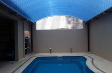 Translucent Pool Enclosure Roof & Walls Castle Crescent Kyneton