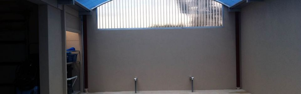 Translucent Pool Enclosure Roof & Walls Castle Crescent Kyneton
