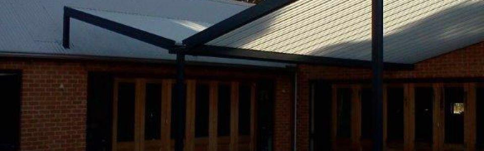 Translucent Gull Wing Roof Caversham Perth