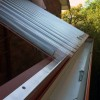 Eaves gutter detail