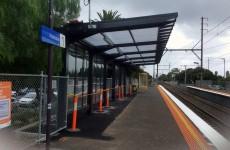 Translucent Shelter Roofing Parkdale Train Station Melbourne