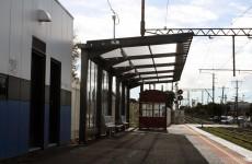 Translucent Shelter Roofing Mordialloc Train Station Melbourne